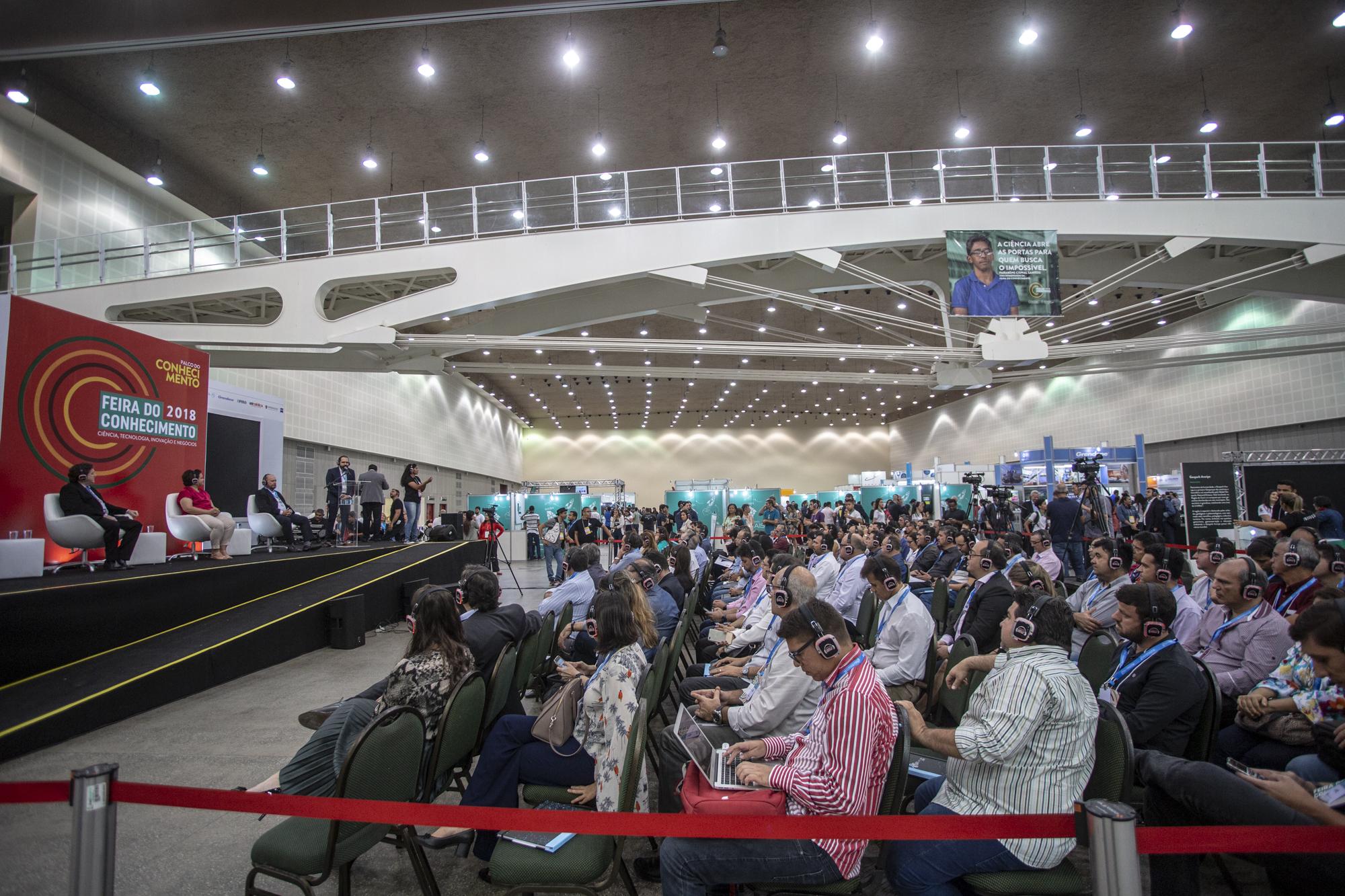 Hub tecnológico: Governo do Ceará reúne gigantes da tecnologia em simpósio na Feira do Conhecimento 2018