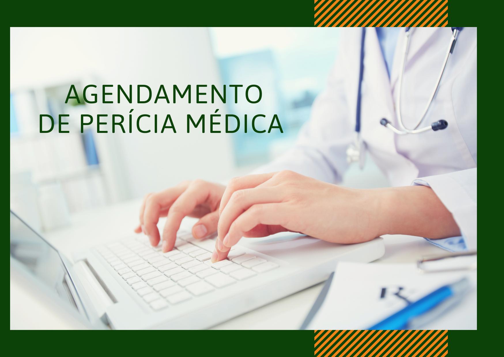 Solicitação e agendamento de perícia médica devem ser feitos por e-mail