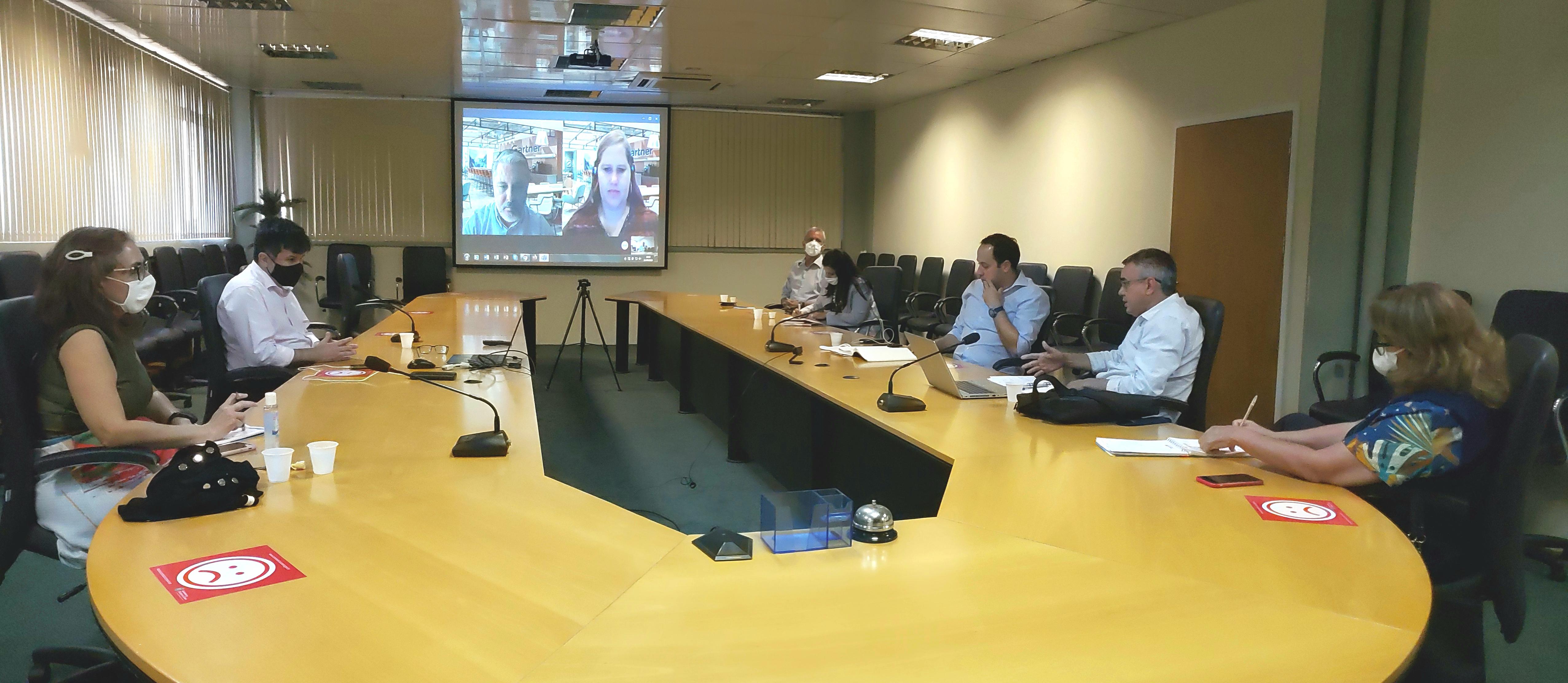Técnicos da SPS apresentam demandas relativas ao Governo Digital