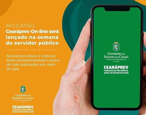 Aplicativo Cearáprev On-line será lançado na semana do Servidor Público